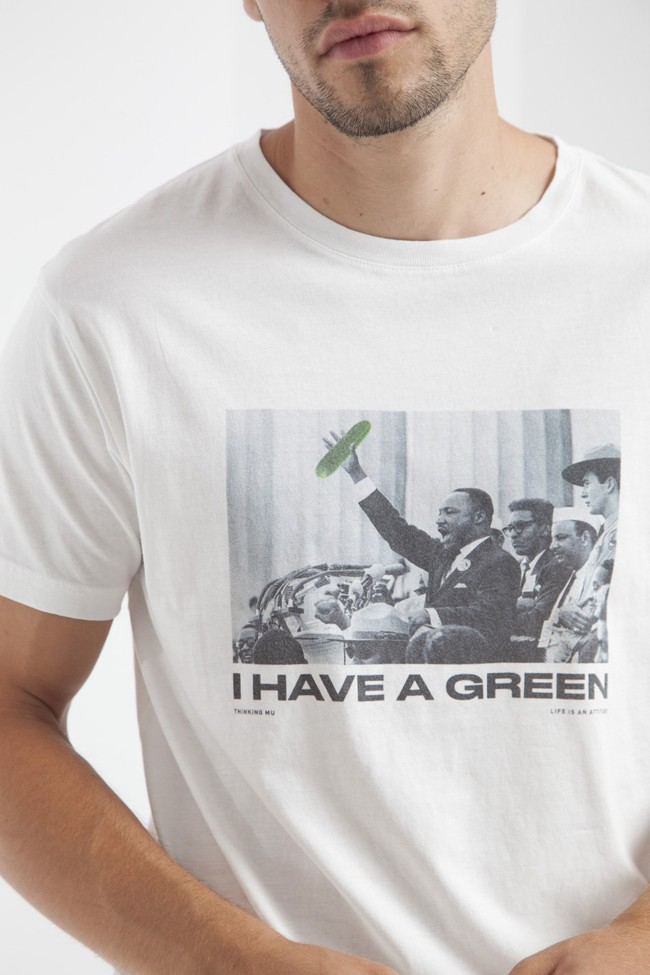 T-shirt en coton bio i have a green - Thinking Mu num 3