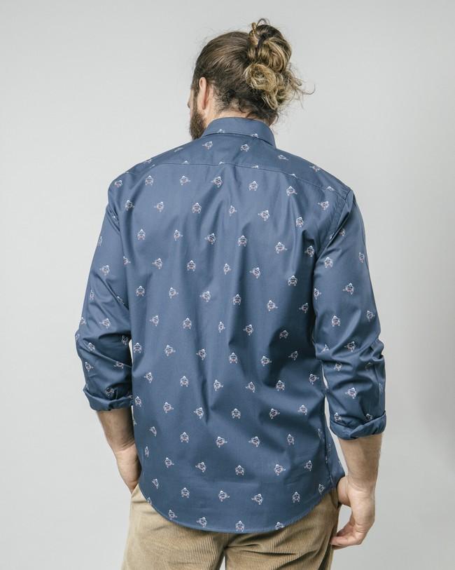 Sumo boy navy printed shirt - Brava Fabrics num 5