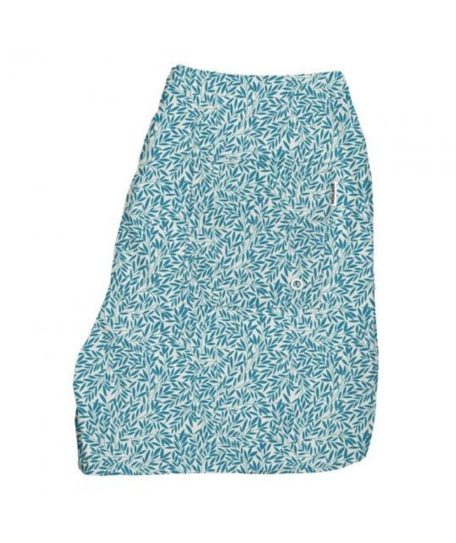 Maillot de bain bleu en polyester recyclé - Dedicated