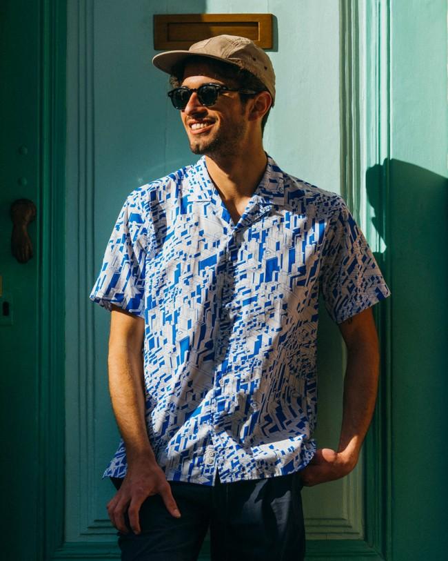 Urban district aloha shirt - Brava Fabrics num 6