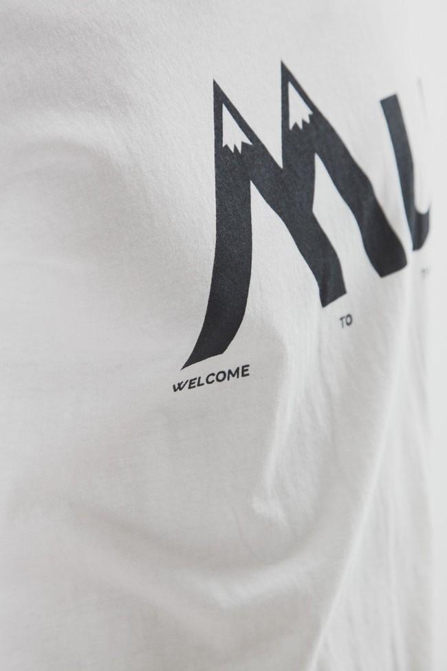 T-shirt en coton bio montagne mu - Thinking Mu num 3