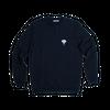 Sweatshirt bleu marine • éléphant blanc - Omnia in uno - 5
