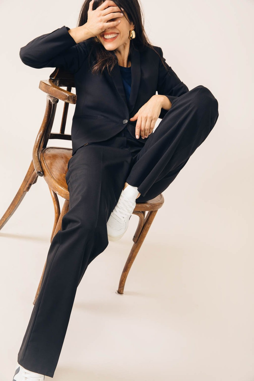 Pantalon tailleur berlin noir - 17h10