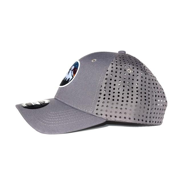 Wild cap - casquette technique recyclée [grey] - Nosc num 2