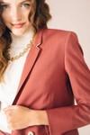 Veste tailleur boston rose brique - 17h10 - 3
