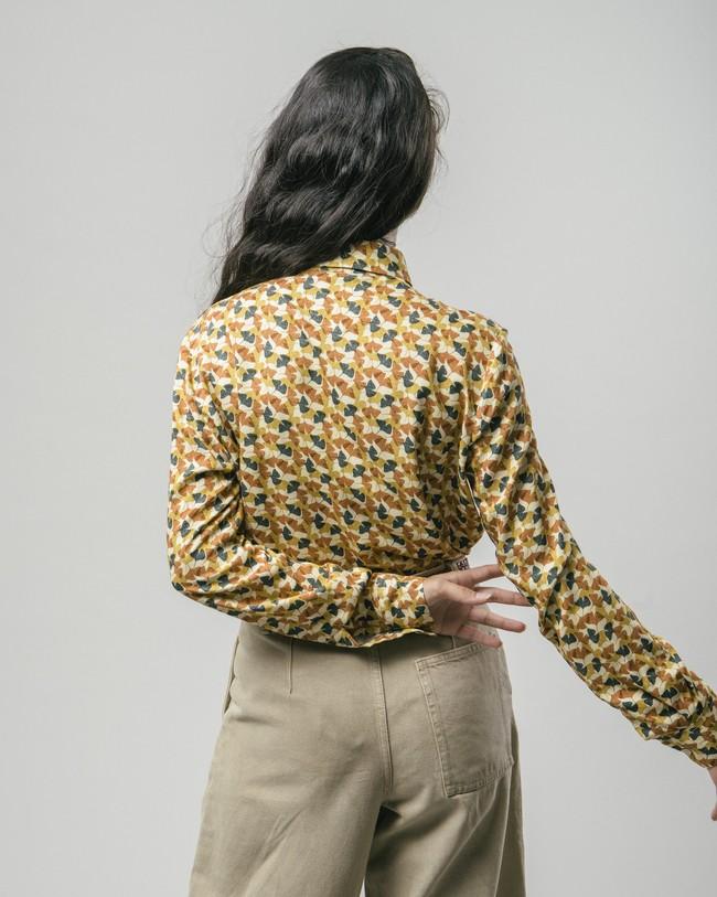 Ginkgo printed blouse - Brava Fabrics num 5