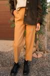 Pantalon camel - Alfa - 2