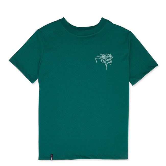 T-shirt recyclé - pure forest - Hopaal
