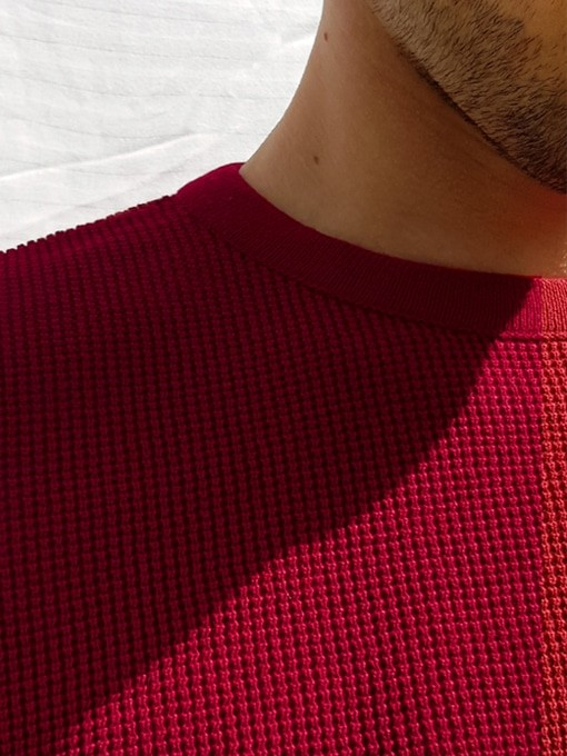 Le jacques rouge cerise - Au Juste num 1