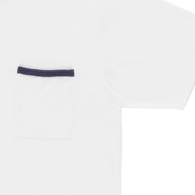 T-shirt en coton bio white andoni - Bask in the Sun num 2