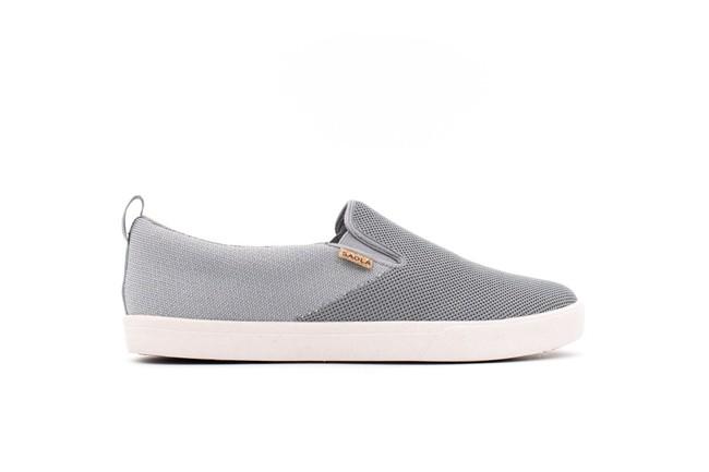Chaussures recyclées havasu knit dark grey - Saola