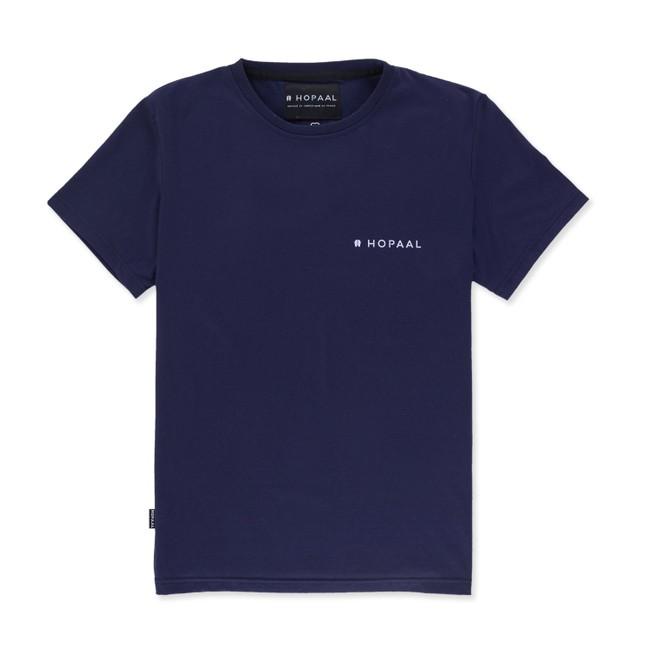 T-shirt recyclé - édition navy - Hopaal