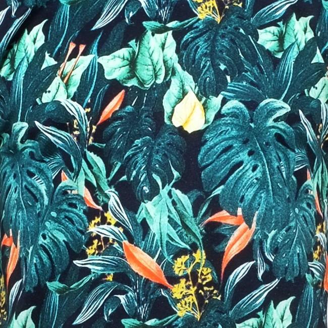 T-shirt motif jungle en coton bio - Dedicated num 2