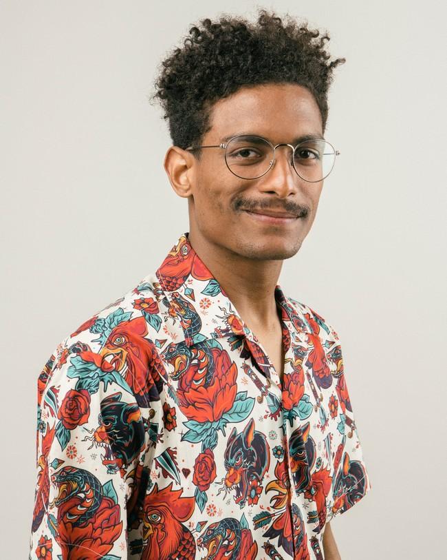 Oldschool tattoo aloha shirt - Brava Fabrics num 3