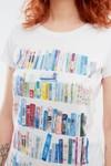 T-shirt motif books - Bleu Tango - 2