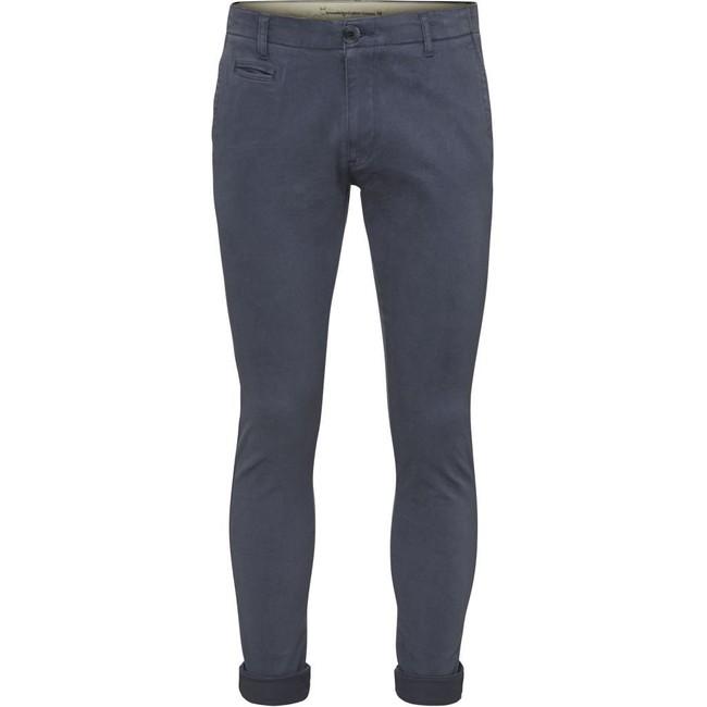 Pantalon indigo vintage en coton bio - Knowledge Cotton Apparel