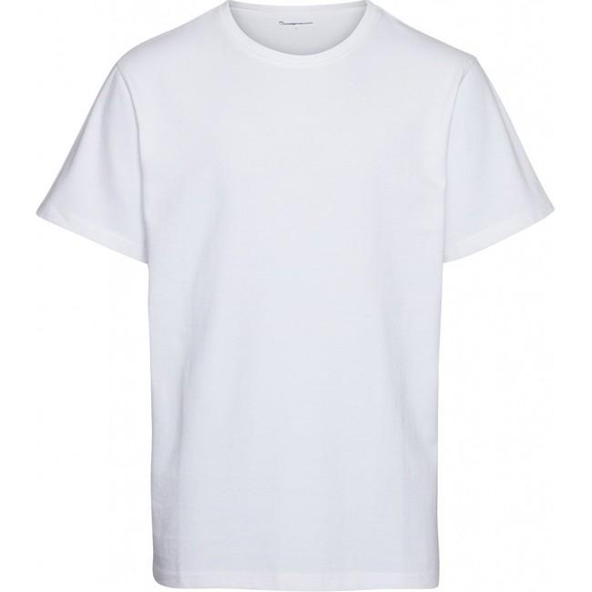 T-shirt ample blanc en coton bio - Knowledge Cotton Apparel