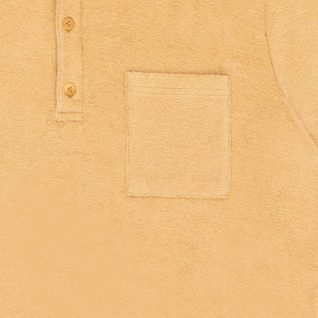 Polo en coton bio sand xan - Bask in the Sun num 2