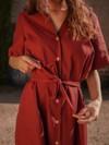 Robe chemise - Maison Alfa - 5
