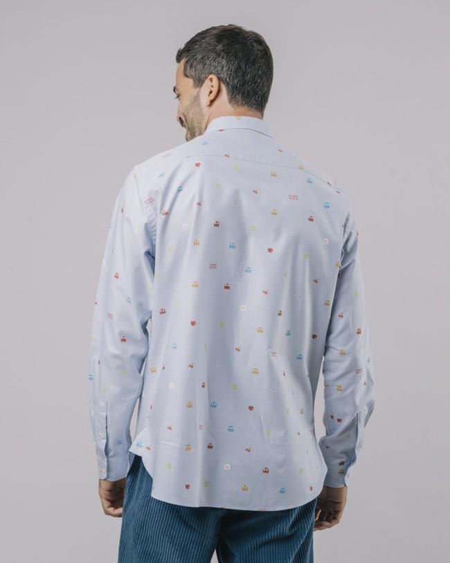 Oxford-shirt pac-man™ x brava - Brava Fabrics num 5