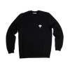 Sweatshirt noir • éléphant blanc - Omnia in uno - 5