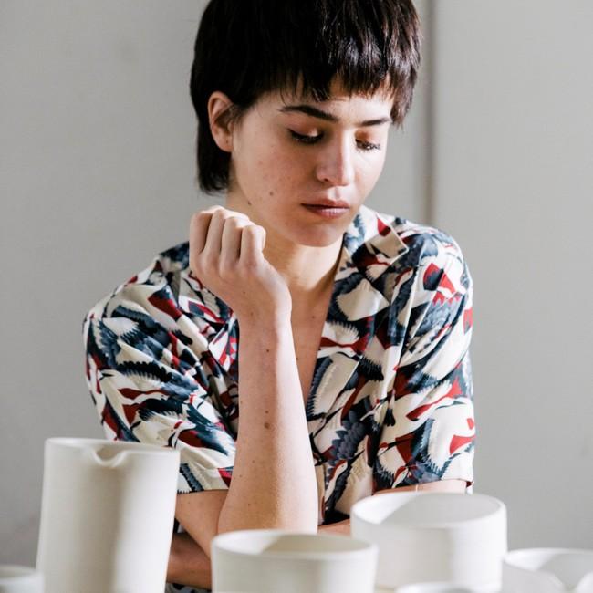 Crane for luck aloha blouse - Brava Fabrics num 8