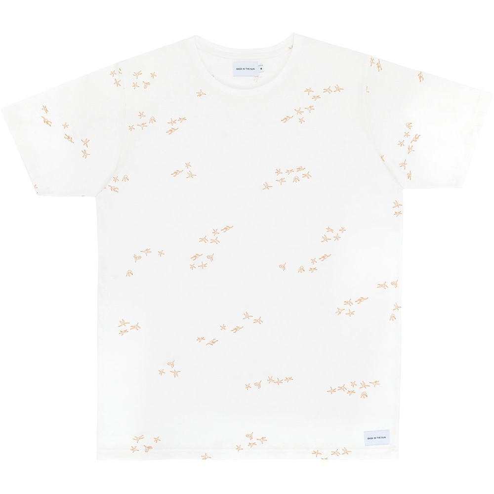 T-shirt en coton bio natural emmy - Bask in the Sun