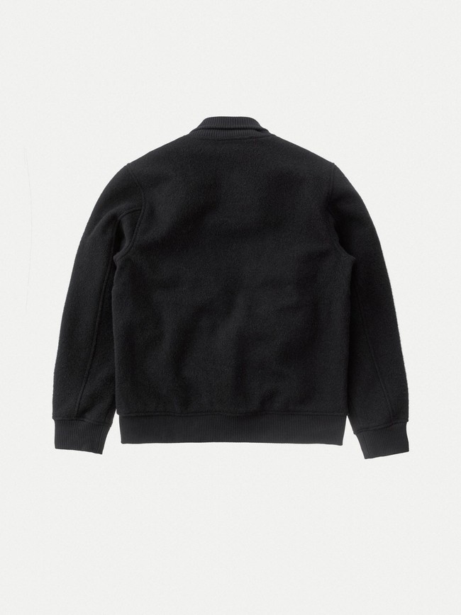 Veste en laine noire - bengan - Nudie Jeans num 7