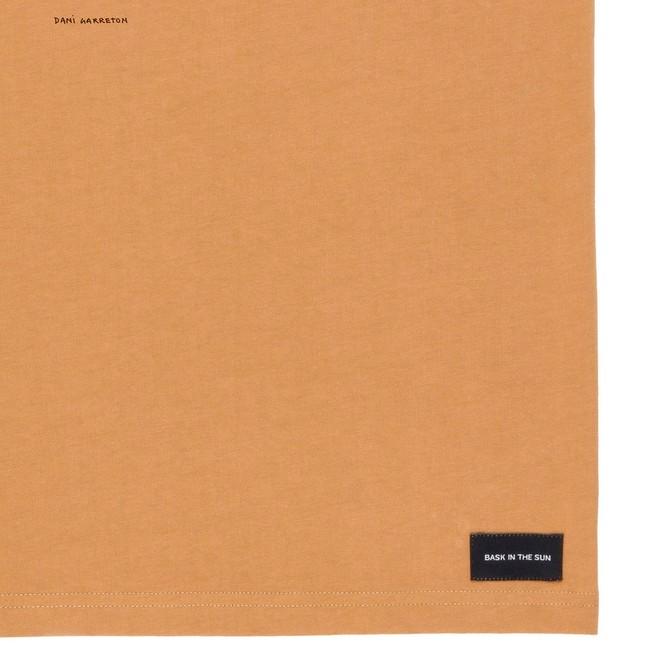 T-shirt en coton bio brown high five - Bask in the Sun num 3