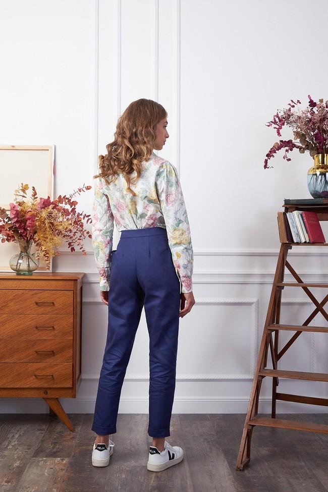 Pantalon kipants bleu écolier - Les Récupérables num 1