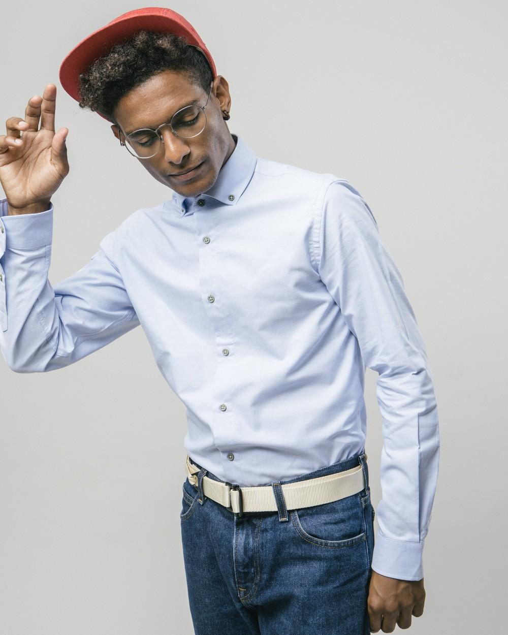 Green dots essential shirt - Brava Fabrics