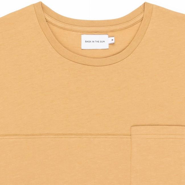 T-shirt en coton bio sand teofilo - Bask in the Sun num 1