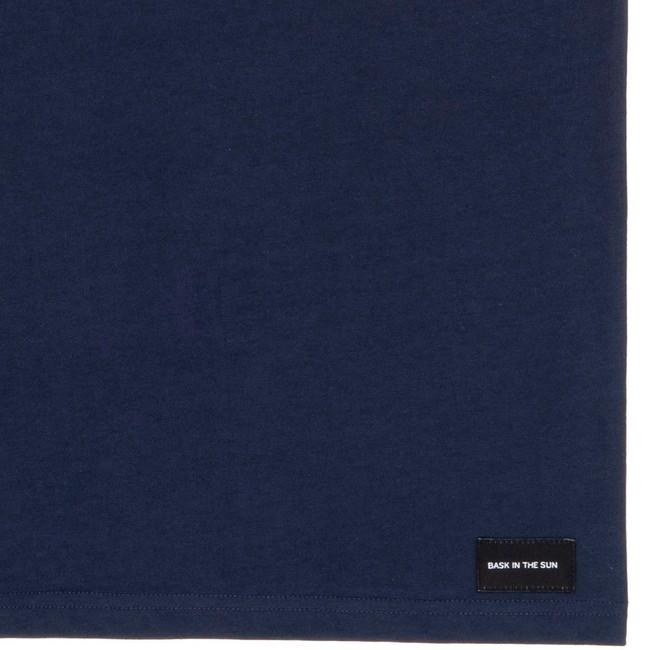 T-shirt en coton bio navy tube girl - Bask in the Sun num 3