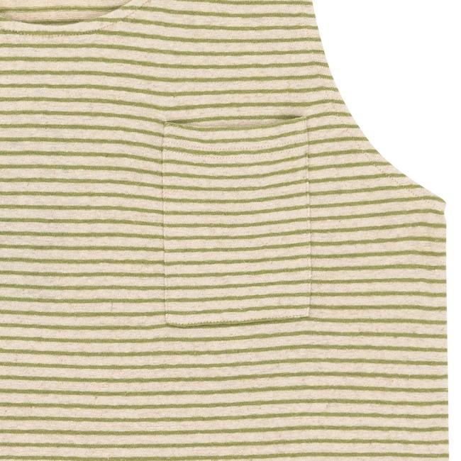 T-shirt olive esteban - Bask in the Sun num 2