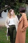 L'authentique vert kaki - pantalon droit en coton biologique - C. Bergamia - 3