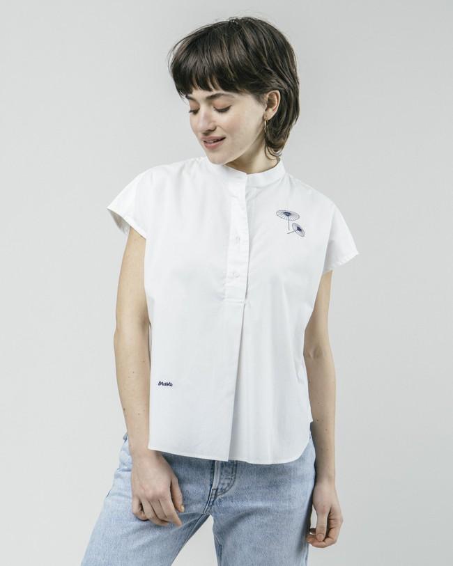 The osaka parasol essential blouse - Brava Fabrics