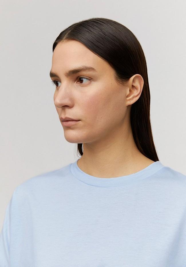 T-shirt bleu ciel en coton bio - kajaa - Armedangels num 3