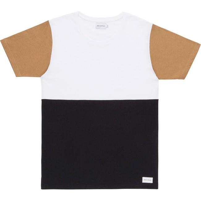 T-shirt en coton bio white teofilo - Bask in the Sun
