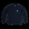 Sweatshirt bleu marine • éléphant bleu - Omnia in uno - 5