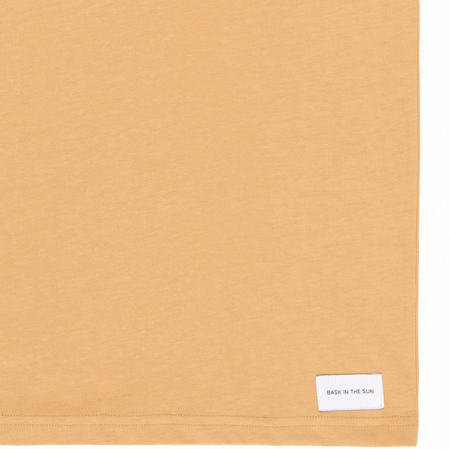 T-shirt en coton bio sand teofilo - Bask in the Sun num 3