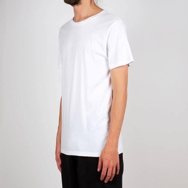 T-shirt blanc en coton bio - stockholm - Dedicated num 1