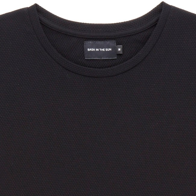 T-shirt en coton bio black gamiz - Bask in the Sun num 1