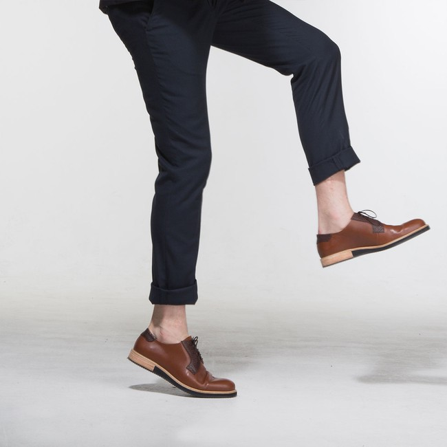 Derbies alpha low - camel - Subtle num 4