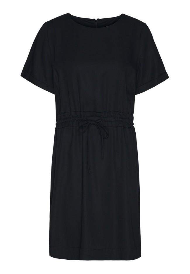 Robe noire en tencel - aalia - Armedangels num 4