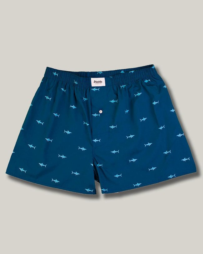 Sharks boxer - Brava Fabrics
