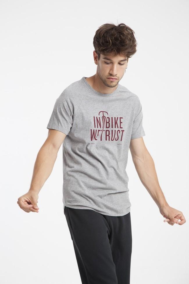 T-shirt en coton bio in bike we trust - Thinking Mu num 4