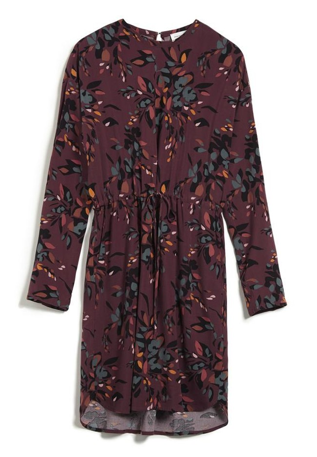 Robe à imprimés floraux en lenzing - edurnaa falling leaves - Armedangels num 3