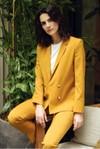 Pantalon tailleur new-york jaune safran - 17h10 - 5