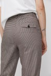 Pantalon à carreaux marron en tencel - varmaa microcheck - Armedangels - 5