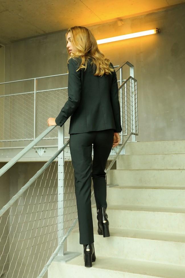 Pantalon tailleur new-york vert profond - 17h10 num 6